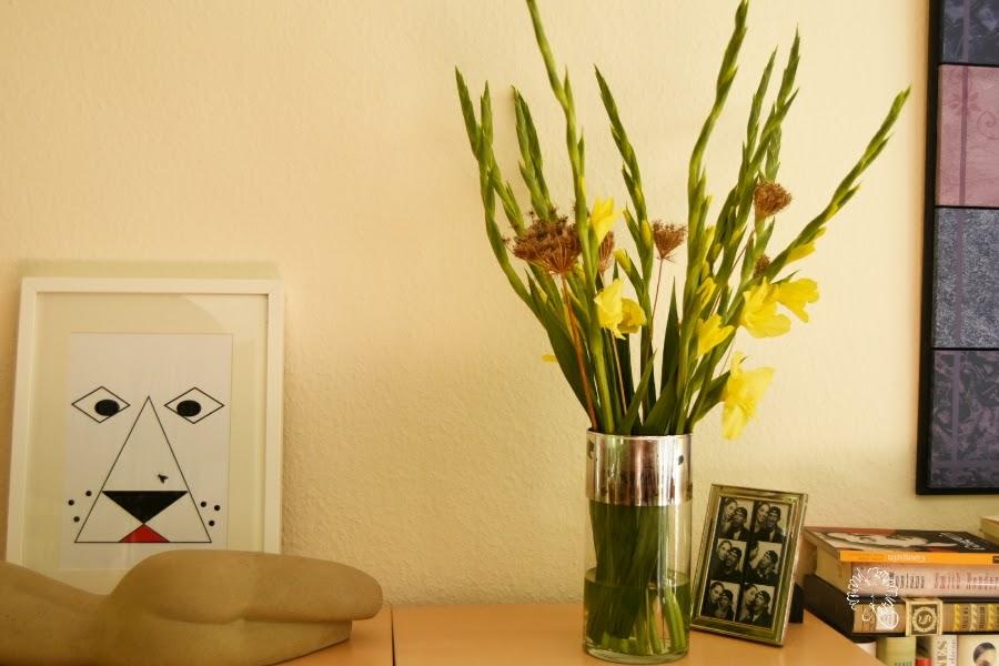 Gelbe Gladiolen & Stadtgeschichten