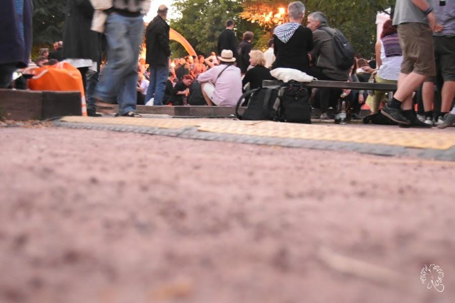 Stadtmaus beim Parkfest