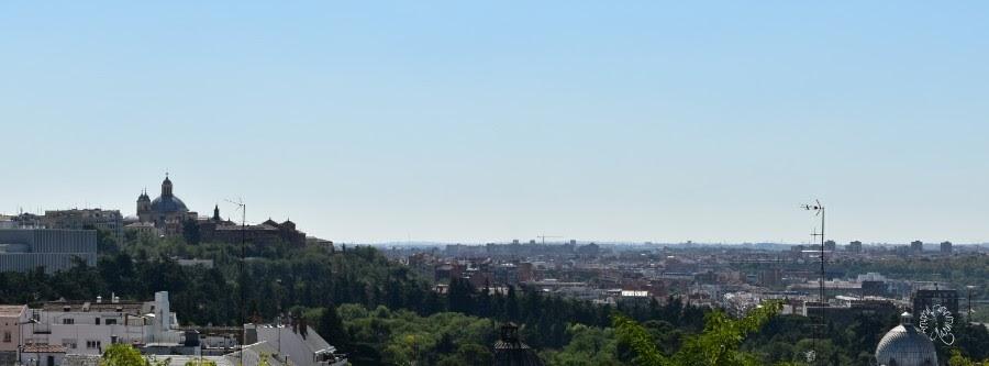 Stadtmaus in Madrid