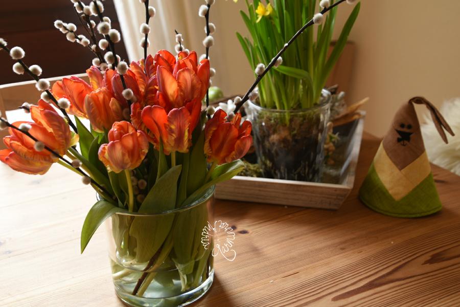 Tulpen zum Blumentag am Freitag