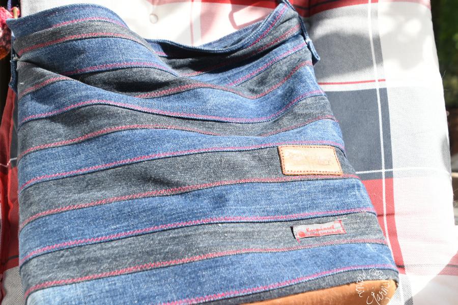 Was man so alles aus Jeans machen kann.