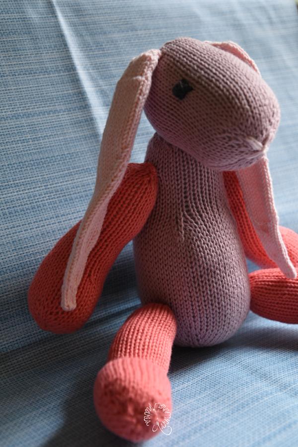 Der Hase aus Baumwolle