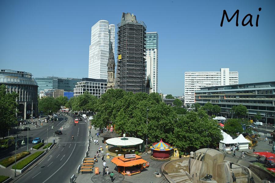 12tel Blick über den Breitscheidplatz