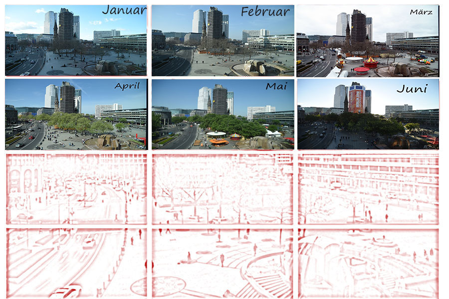 Ein halbes Jahr den Blick über den Breitscheidplatz