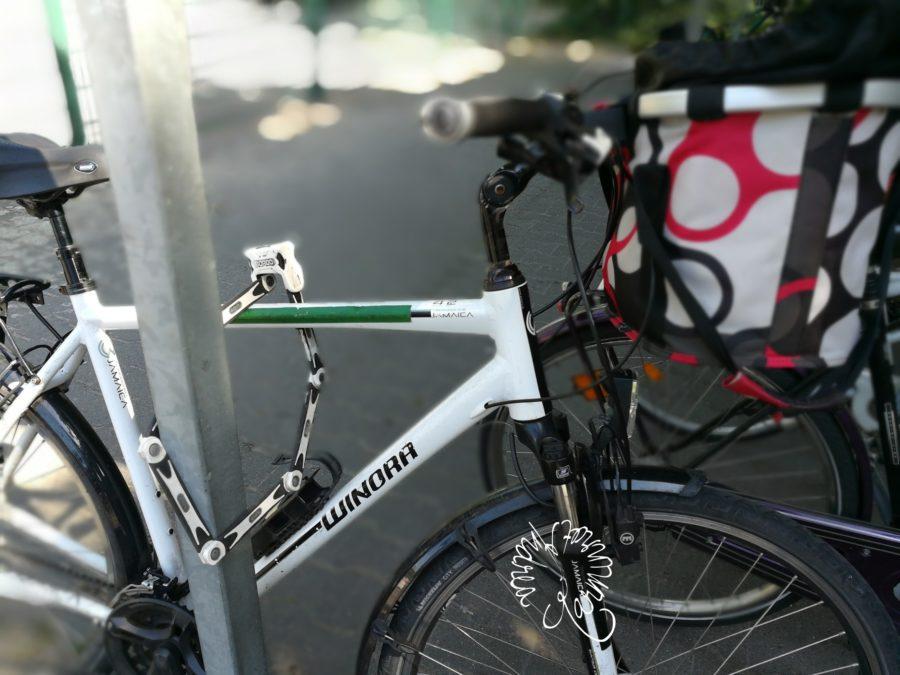 Fahrrad im Fahrradstall