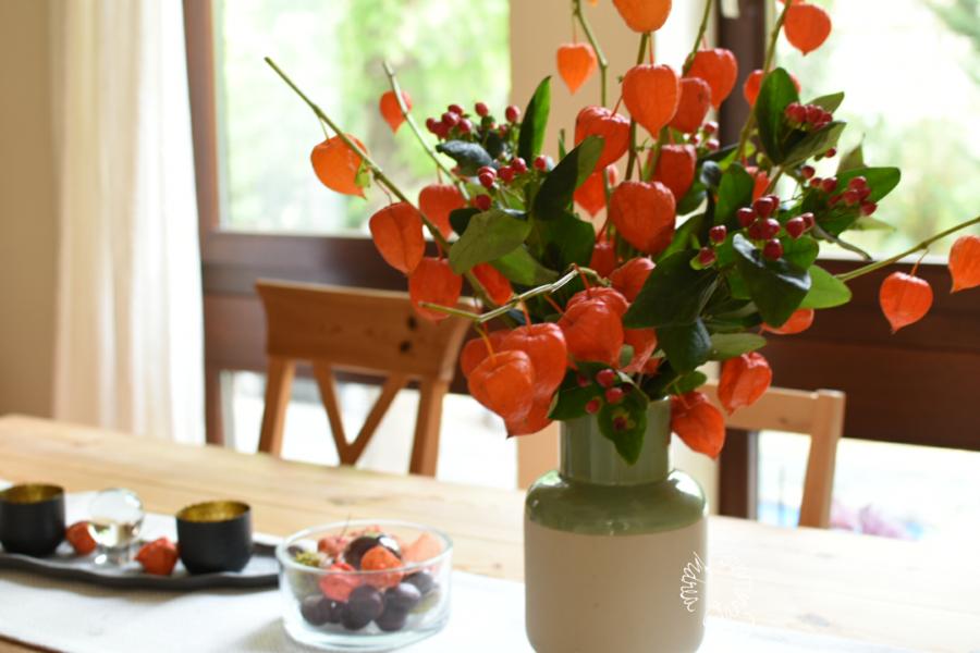In rustikaler Vase