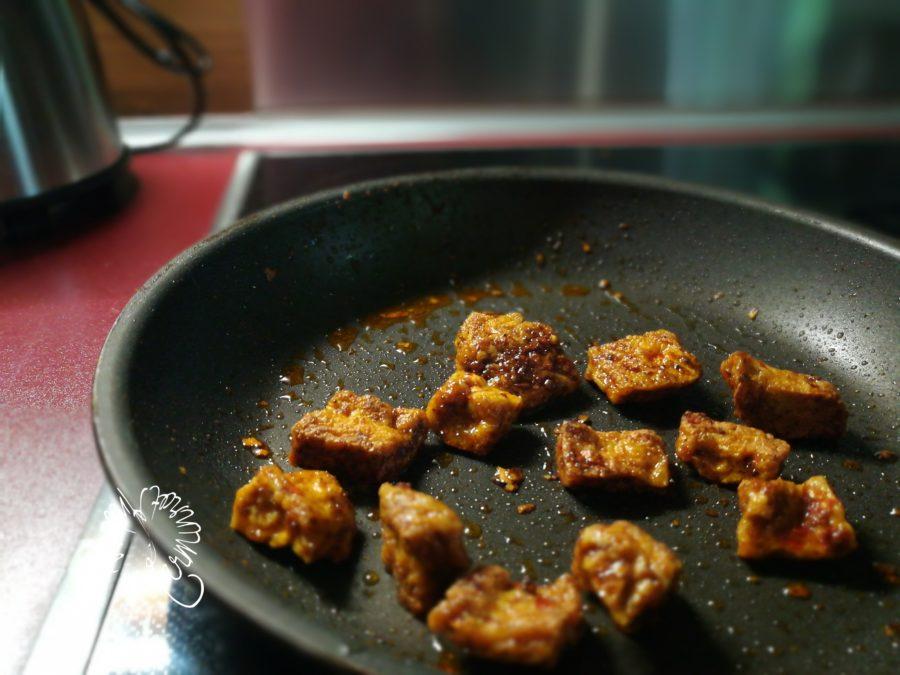Tofu scharf