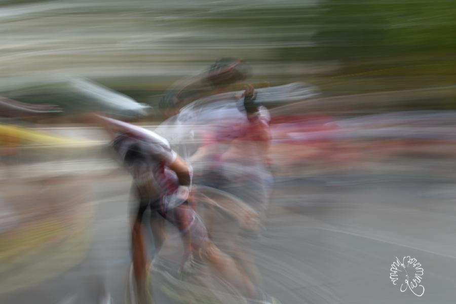 Marathon in Bewegung, oder die Welt ist Bunt