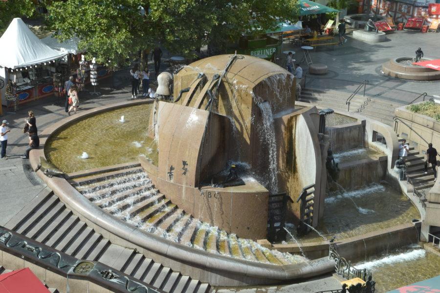 Springbrunnen, Weltkugelbrunnen