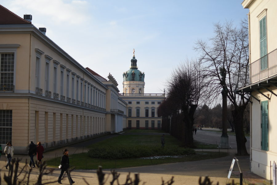 Charlottenburger Schlossblick {12tel Blick Januar 2019}