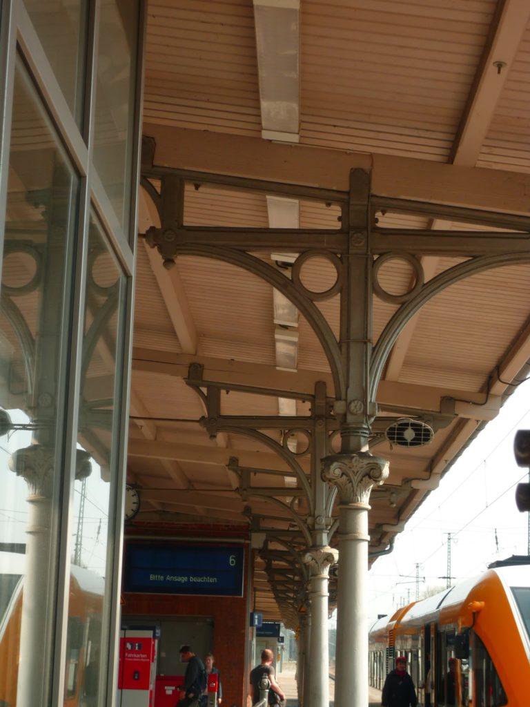 Startbahnhof Wannsee, nach Brandenburg