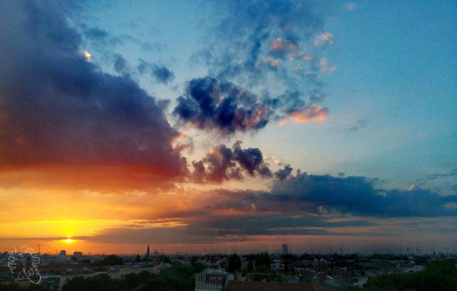 Sonnenaufgang und Fernsehen…{5 Fragen im Juli}