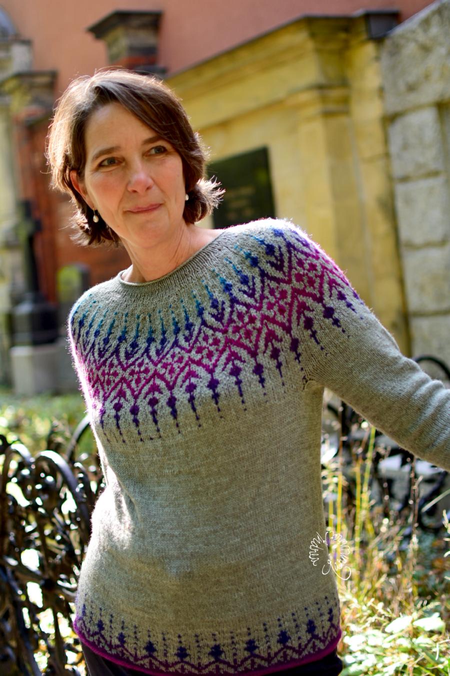 Gardengate Sweater oder Gartentörchen Pullover