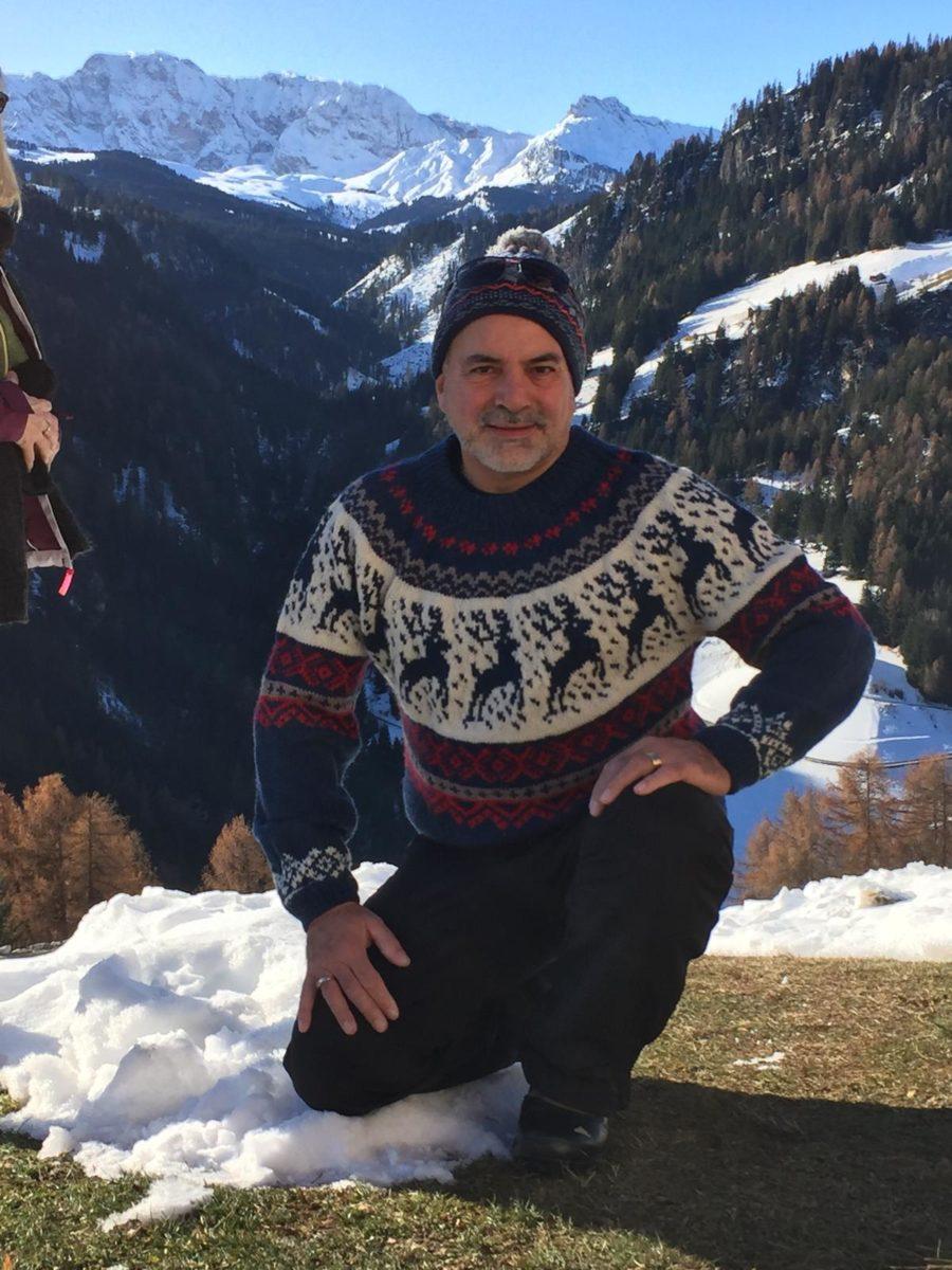 Mein Norweger war in Tirol, Ein Pullover auf Reisen
