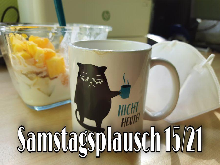 Tasse mit Katze : Nicht heute steht darauf und gehört heute zum Blogpost Suchen und Finden