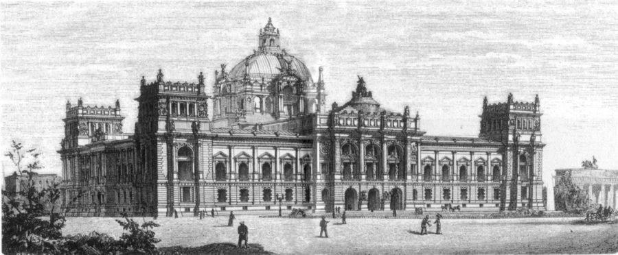 Reichstagsgebäude von Wallot