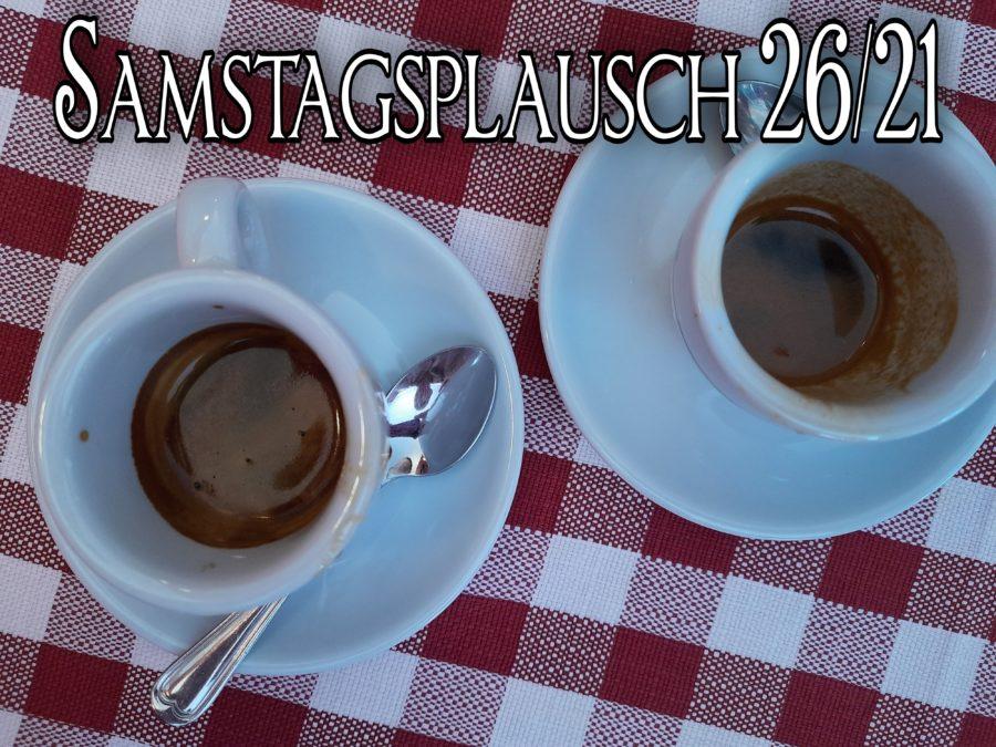 Zweisamkeit auf dem Tisch, Zwei Espressotassen