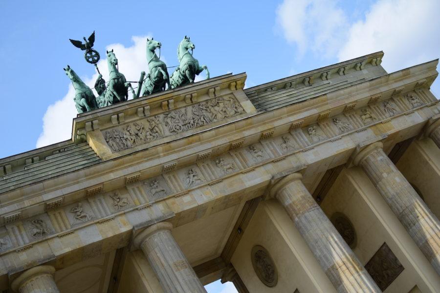 Das Brandenburger Tor  {siebter 12tel Blick 21}